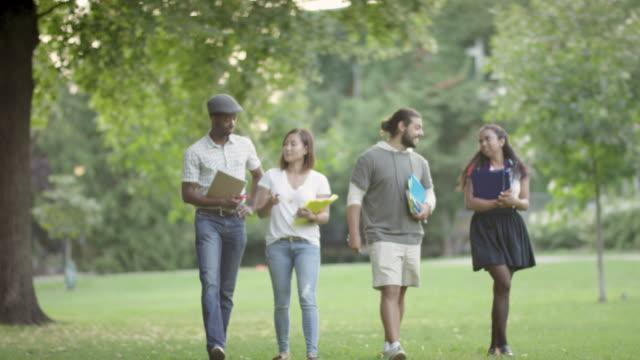Walking on campus video