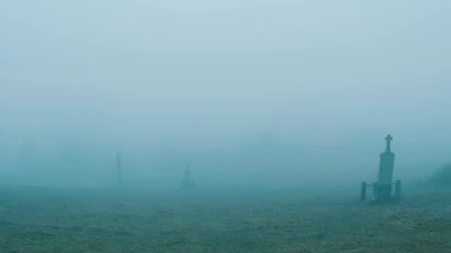 Walking on Misty Cemetery