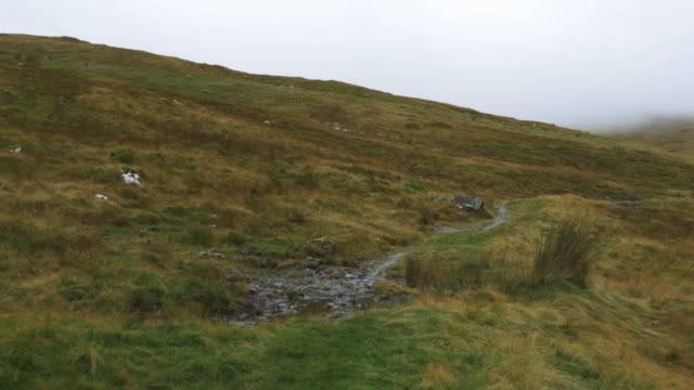 walking on mourne mountain countryside morning,Northern Ireland