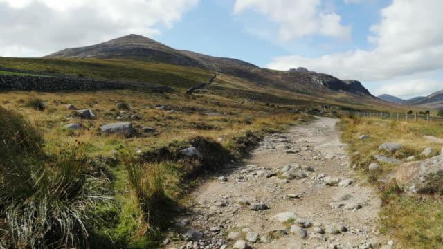 walking on Summer countryside,Northern Ireland video