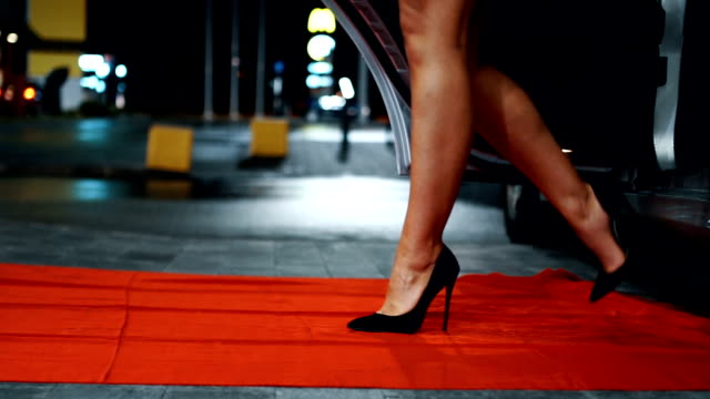 Walking on the red carpet