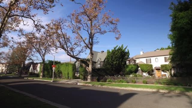 Walking Perspective on Beverly Hills Residential Sidewalk video