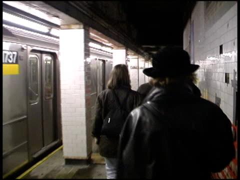 Walking Through New York Subway Station video