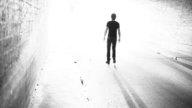 Walking to the light (heaven) video