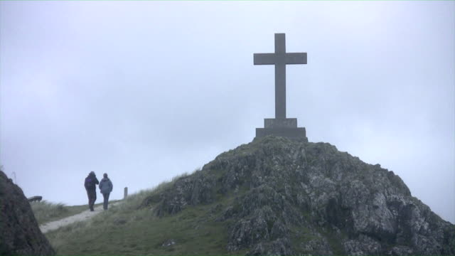 Walking towards the cross video