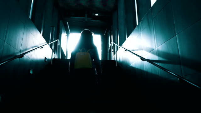 walking up loneliness - sognare video stock e b–roll