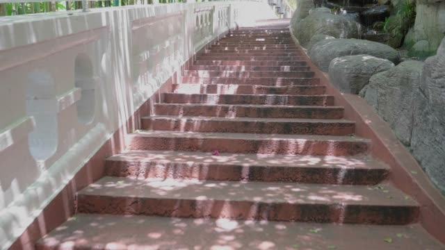 walking up staircase - staircases stock videos & royalty-free footage