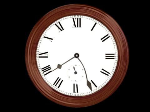 Wall Clock Loop (NTSC D1) video