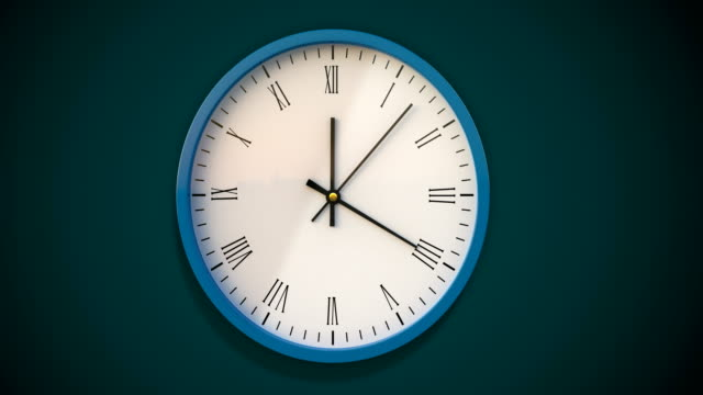 Wall clock  timelapse Fast,timing,animation time zone stock videos & royalty-free footage