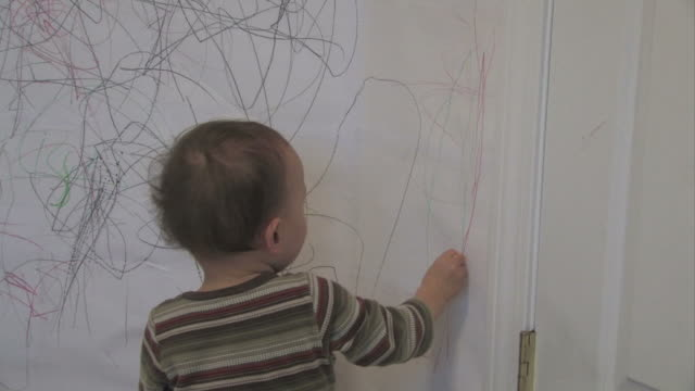 Wall drawing 2 - multi-format progressive video