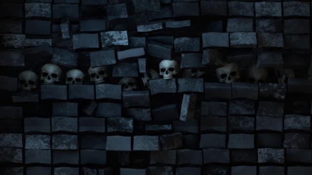 Wall of Skulls Pull Back