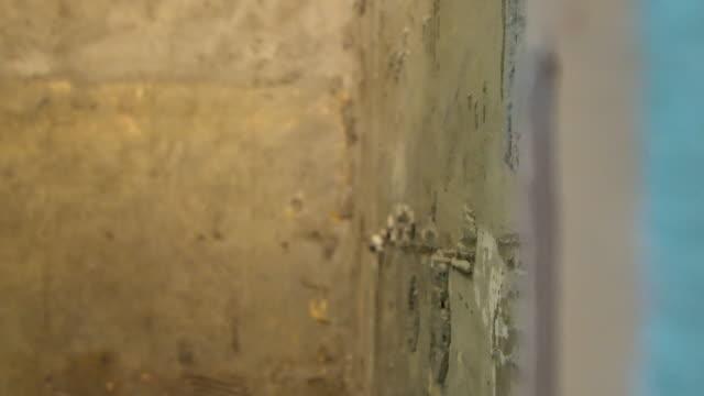 Wall renovation video