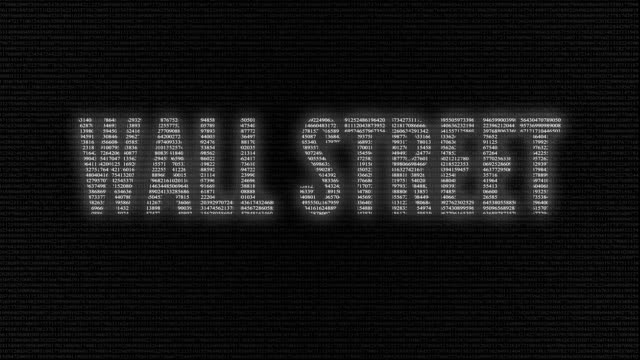 Wall Street name animation video