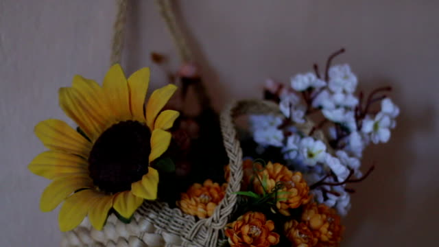 wall wedding flowers - триллиум стоковые видео и кадры b-roll