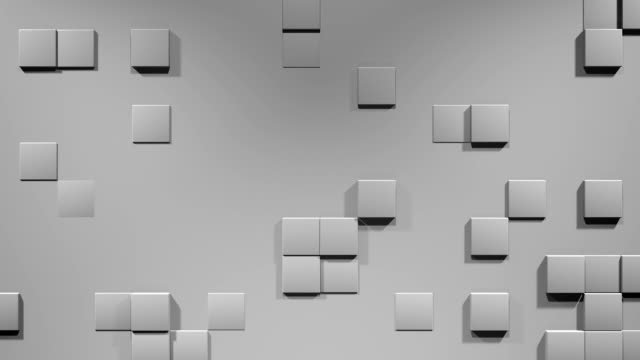 Wall with Cubes video