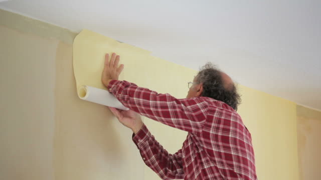 Wallpapering video