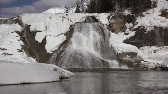 Wapta Falls (4k) video