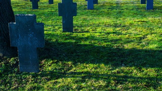 War Grave Time Lapse (4k) video