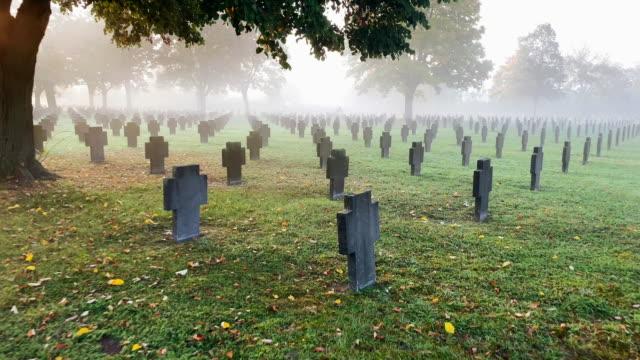 War Graves In The Fog