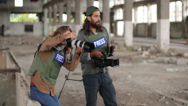 Kriegsjournalist – Video