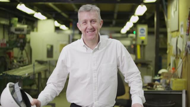 Warehouse factory engineers video