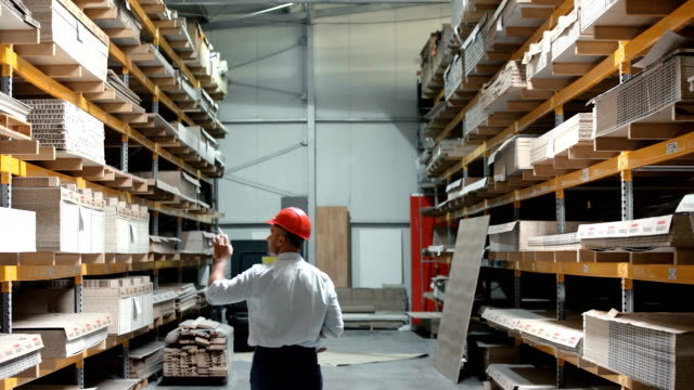 Warehouse inspection. video