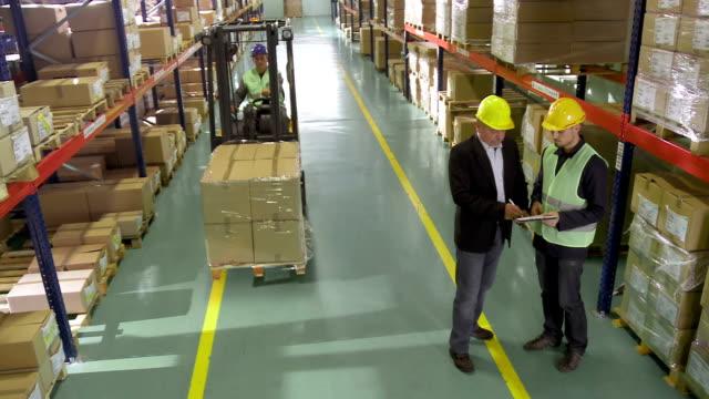 Warehouse Staff Meeting video