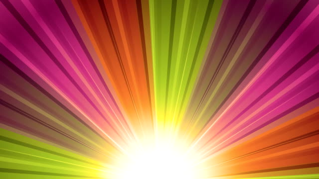 Warm Sunburst Rainbow Rays Retro sunburst backgrounds animations suited for broadcast, commercials and presentations. They can be used also in Celebration, Party and Birthday or New Year animations. {{relatedSearchUrl(carousel.phrase)}} stock videos & royalty-free footage