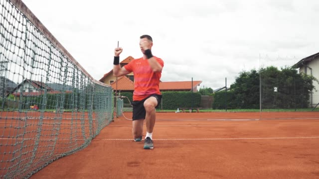 warming up for a tennis match - target australia stock videos & royalty-free footage