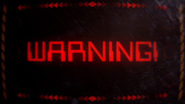 Warning Alert Signaling on an Old Monitor