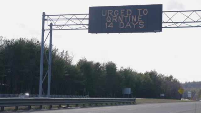 covid-19 varning - massachusetts bildbanksvideor och videomaterial från bakom kulisserna