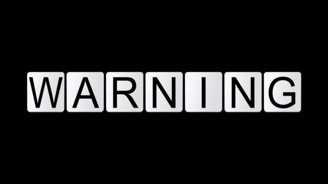warning video