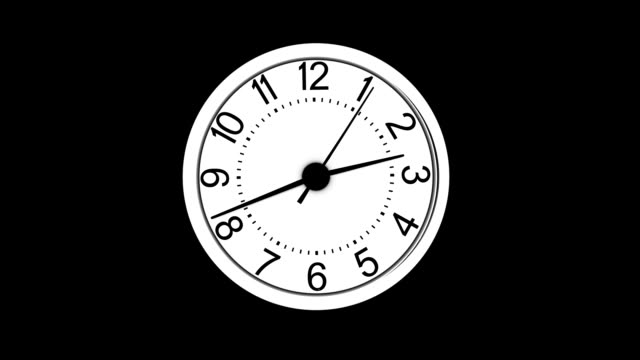 warping clock timer video