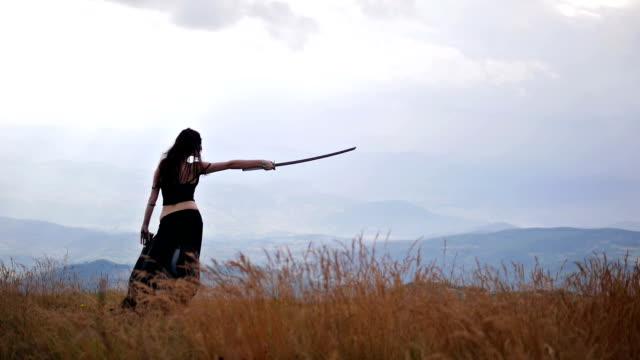 Warrior woman video