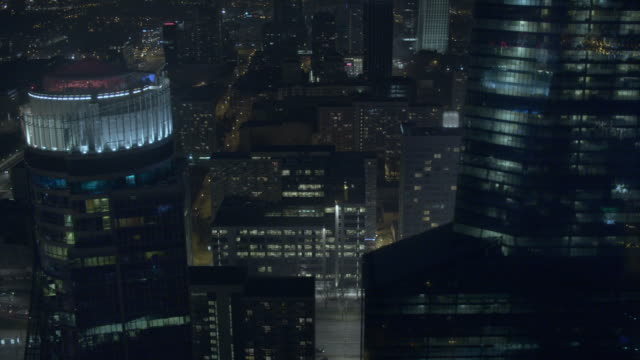 Warsaw by night video