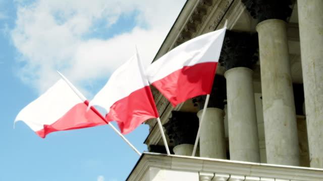 warschau - polnische kultur stock-videos und b-roll-filmmaterial