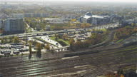 istock Warsaw's Railway Station seen from above. Sunny, autumn day 1312801374