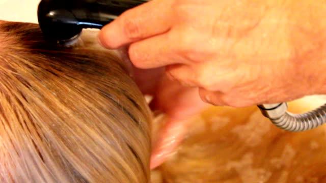Washing hair (HD) video