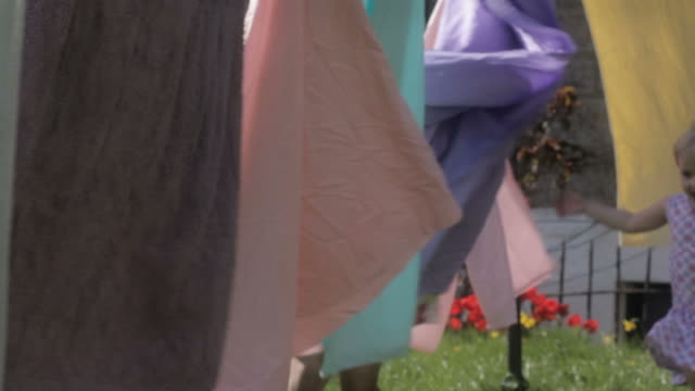 Washing line games video