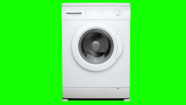 waschmaschine drehen. - waschmaschine stock-videos und b-roll-filmmaterial