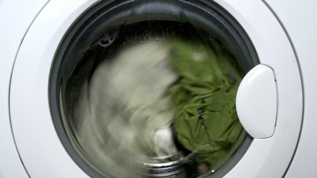 Waschmaschine Waschungen Kleidung – Video