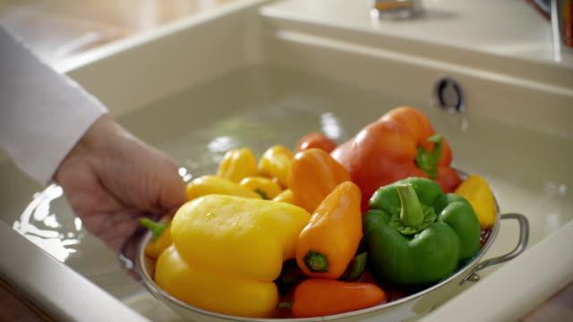 Washing Paprika video