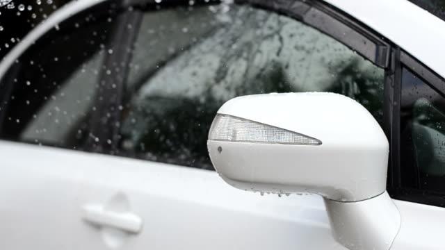 washing the car - surf garage bildbanksvideor och videomaterial från bakom kulisserna