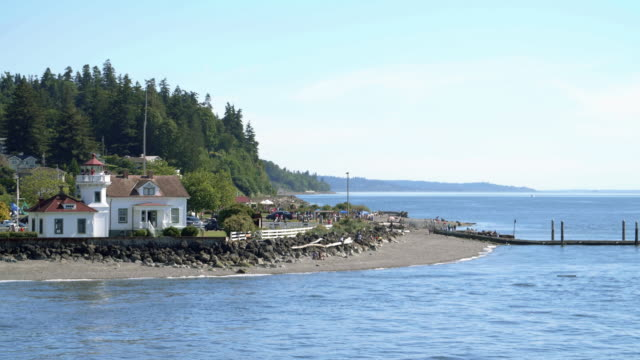 Washington Beach View at Ferry Boat Crossing