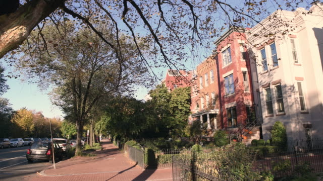 washington dc cityscapes capitol hill - stadtviertel stock-videos und b-roll-filmmaterial