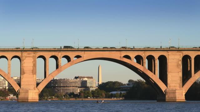 Washington DC Cityscapes Key Bridge
