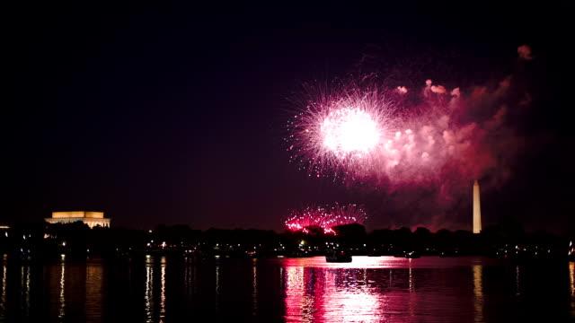 Washington DC Fireworks video