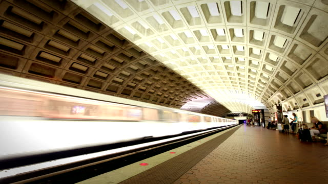 Washington DC Metro Train Station video