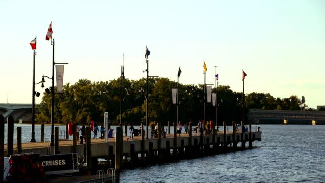 Washington D.C - National Harbor Boardwalk video