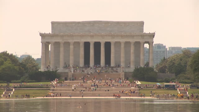 Washington Mall with Lincoln Memorial video